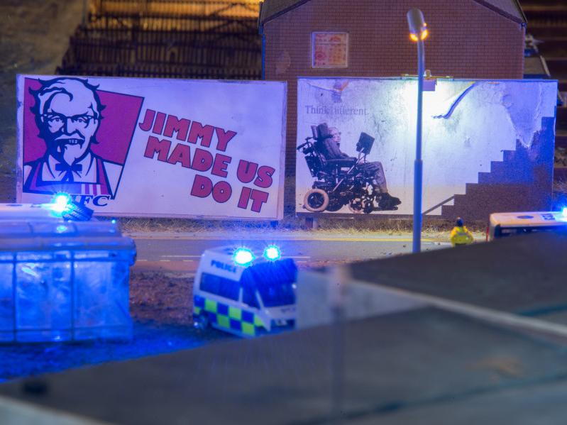 Devil in the detail: James Cauty's dystopia in miniature