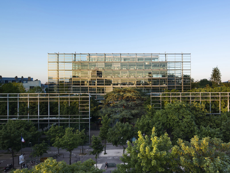 hans ulrich obrist and jean nouvel at the cartier foundation