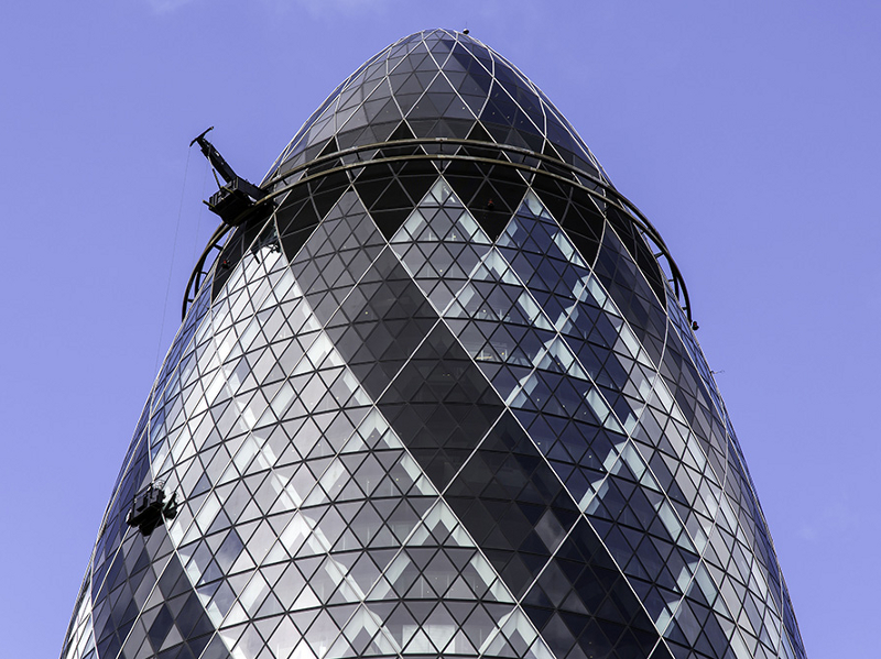 Gerald McLean: photographing the Gherkin