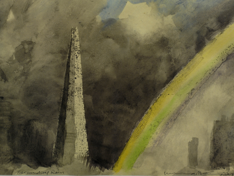 Charity project makes art out of The Shard