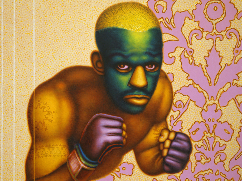 The dark side of pop-art: Ed Paschke at the Ashmolean Museum