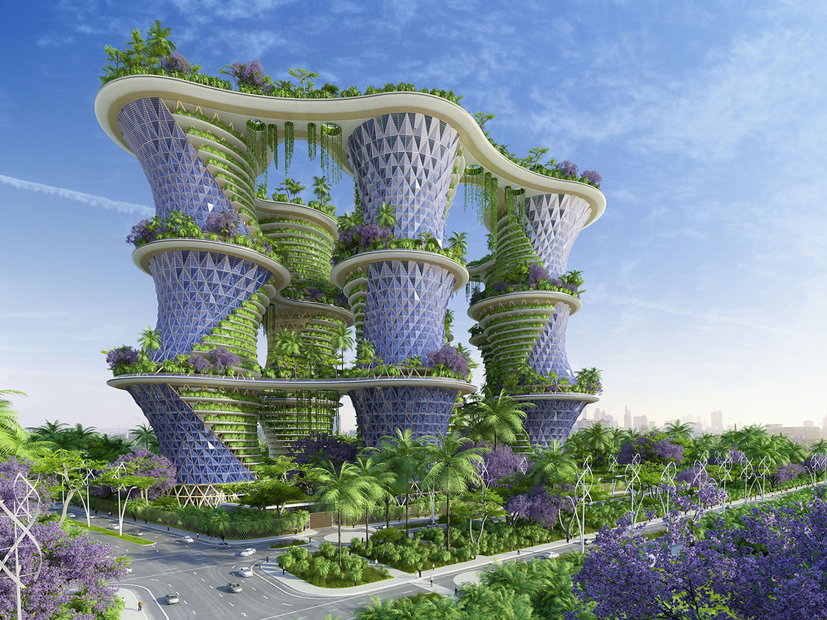 Are vertical villages the answer to an eco-future?