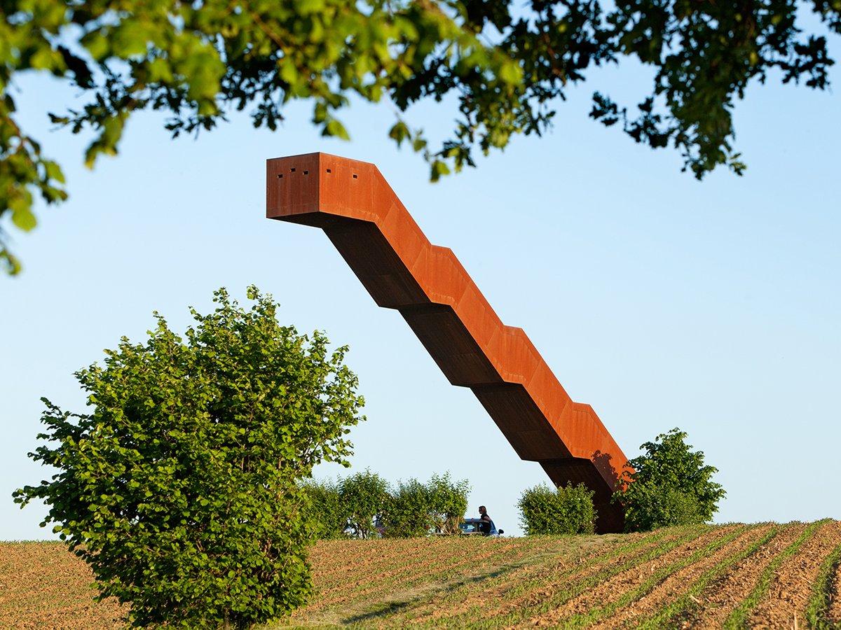The art of landscape architecture: Belgium's staircase to heaven