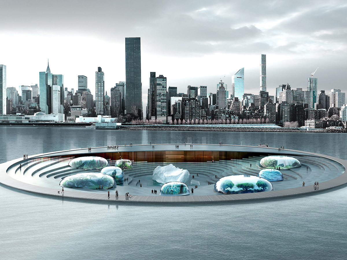 NYC's aquarium of the future includes a planetarium and floating boardwalk