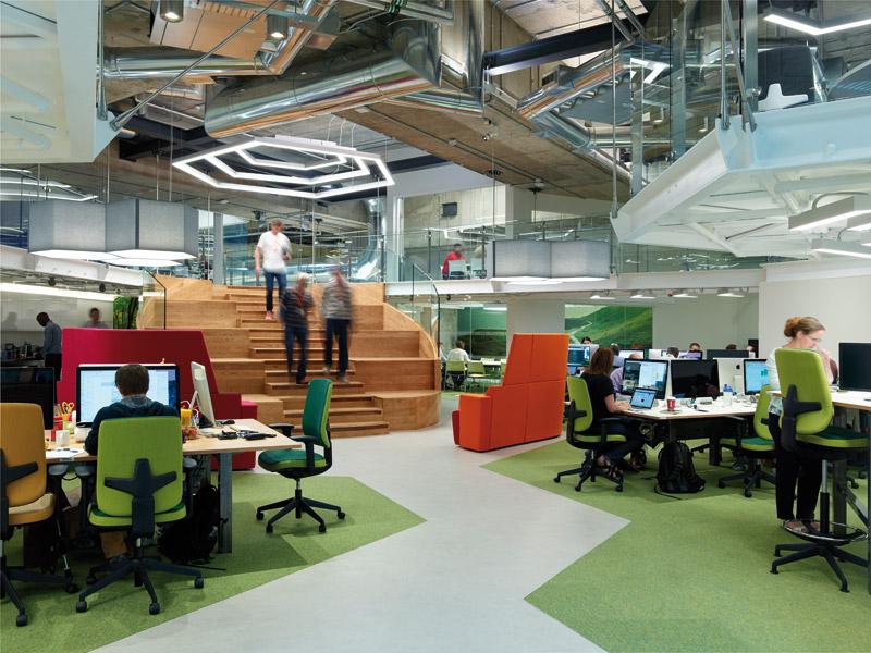 Blueprint designcurial sainsburys digital lab by chetwoods architects malvernweather Choice Image