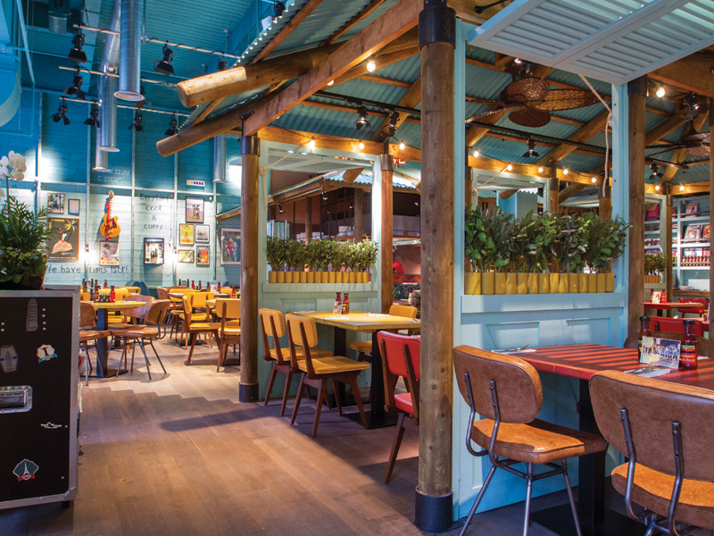 Caribbean Catering: Levi Roots' Smokehouse