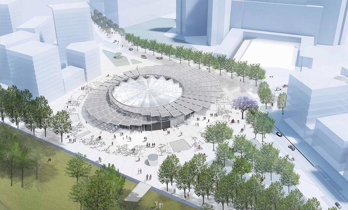 Big to design new pont de bondy metro station in paris designcurial big to design new pont de bondy metro station in paris malvernweather Choice Image