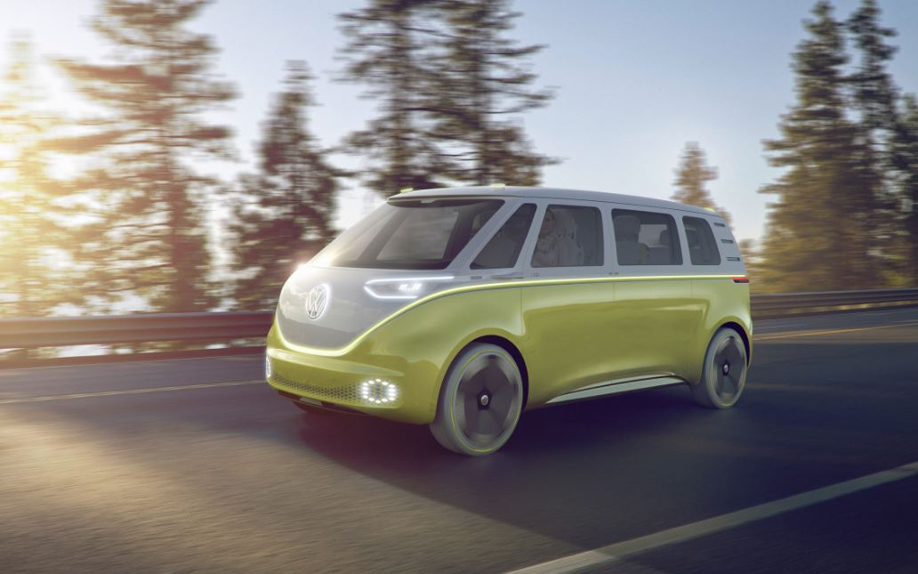 Volkswagen Unveils All New Self-Driving Electric Microbus