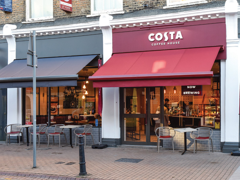 Costa Coffee House, Wandsworth, London by Edge
