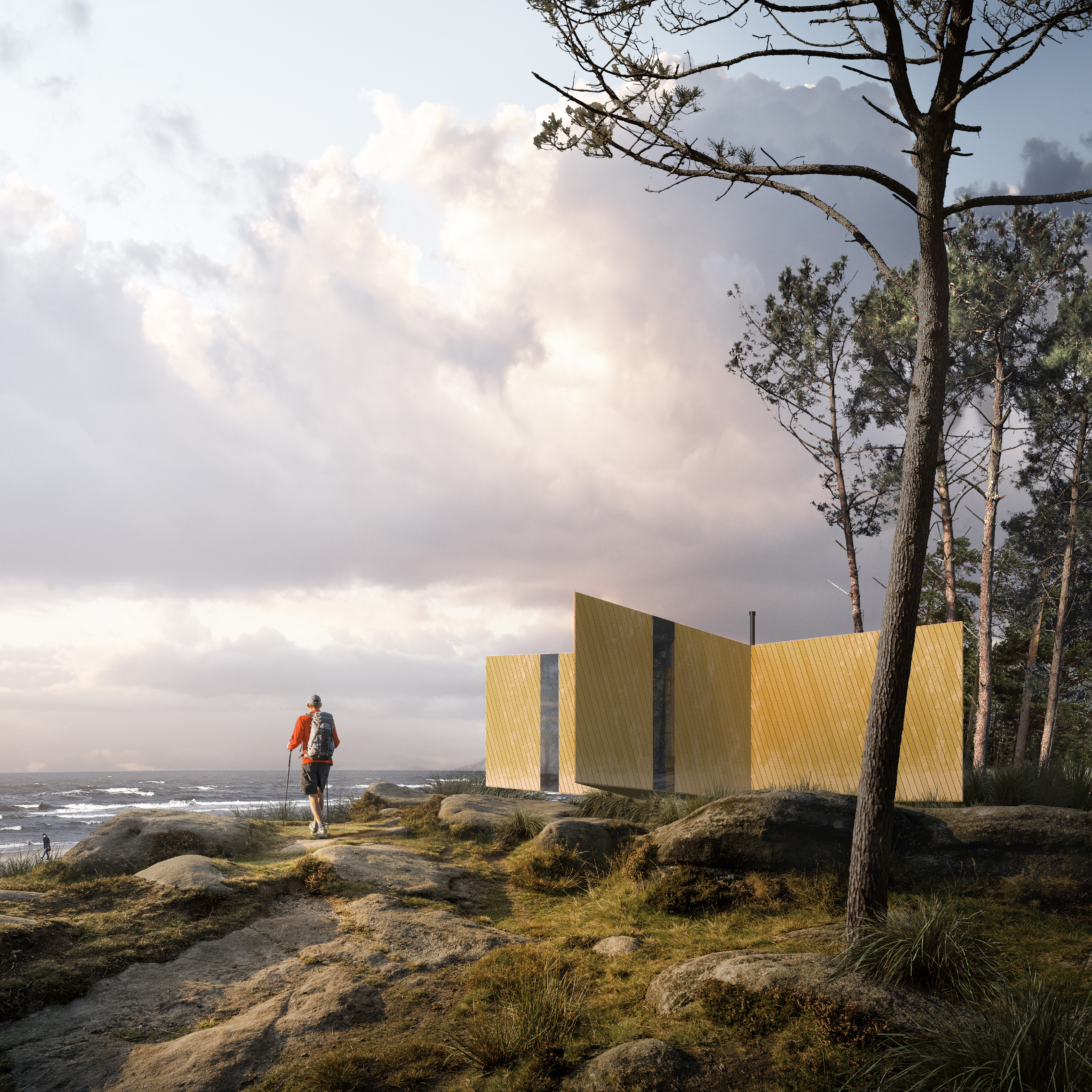 Blueprint awards 2014 the winners designcurial a trekking cabin design with star quality malvernweather Image collections