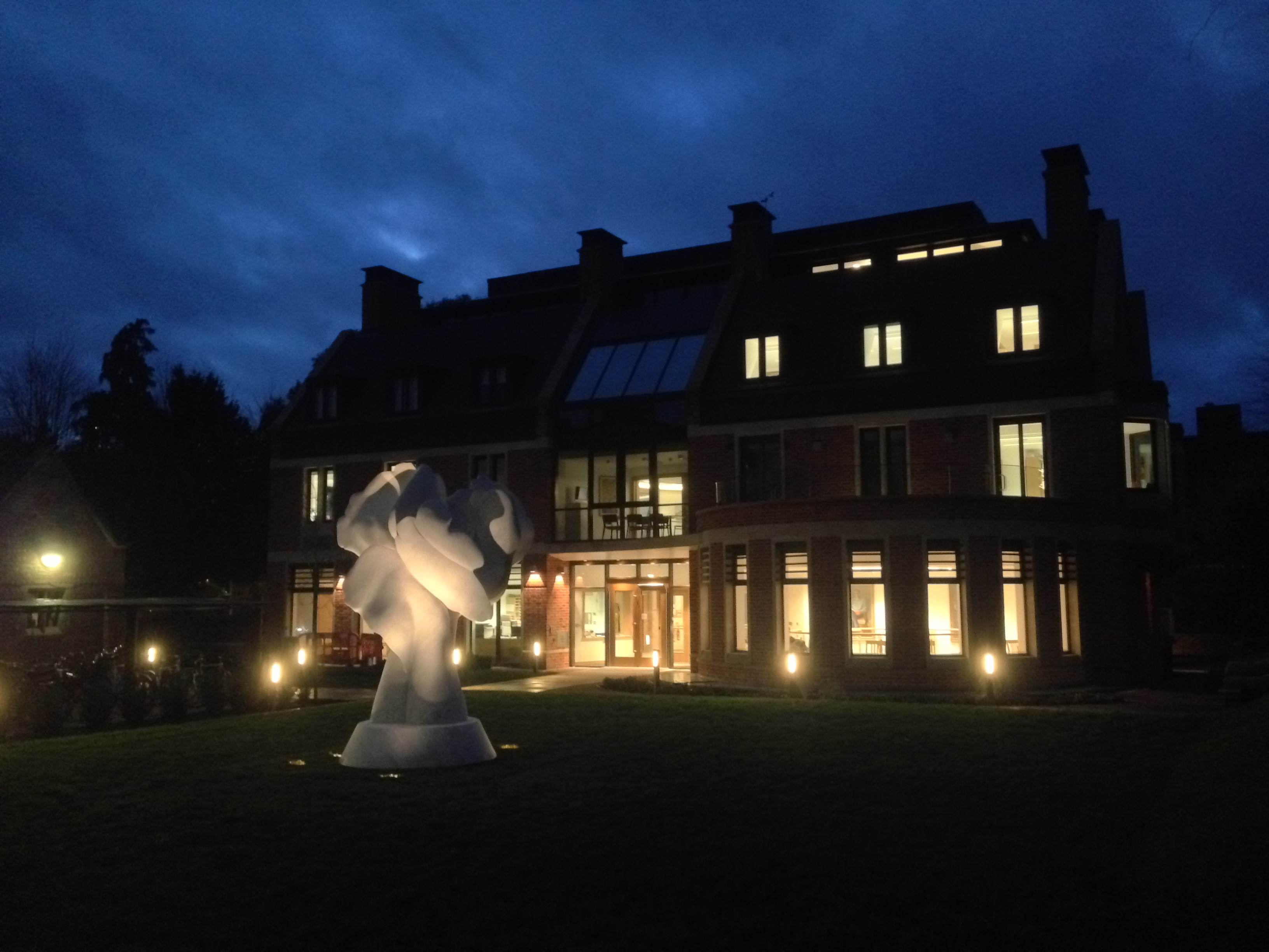 Helaine Blumenfeld unveils her Tree of Life at the Woolf Institute