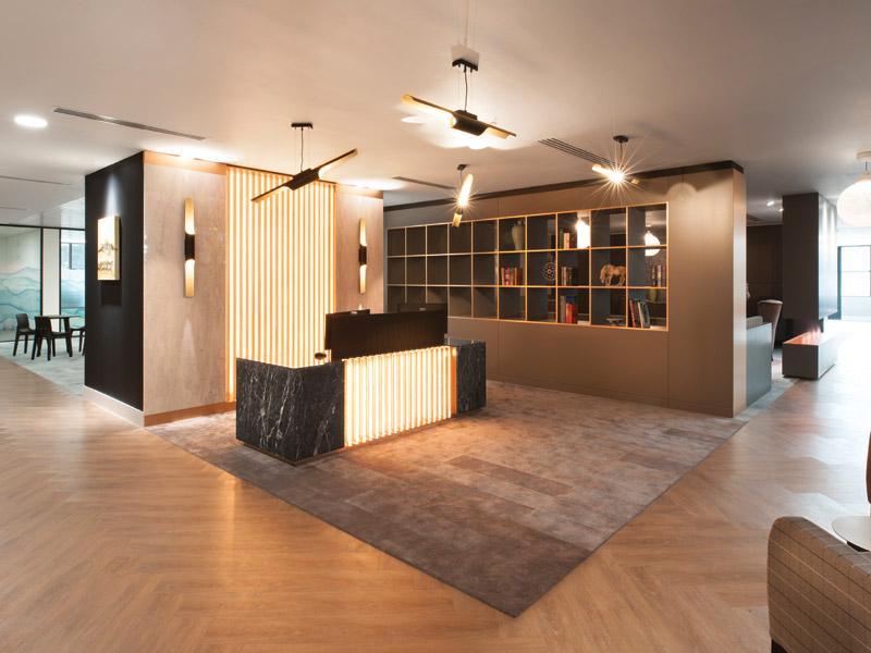 Resonate transform dated interiors of media empire's former home - DesignCurial