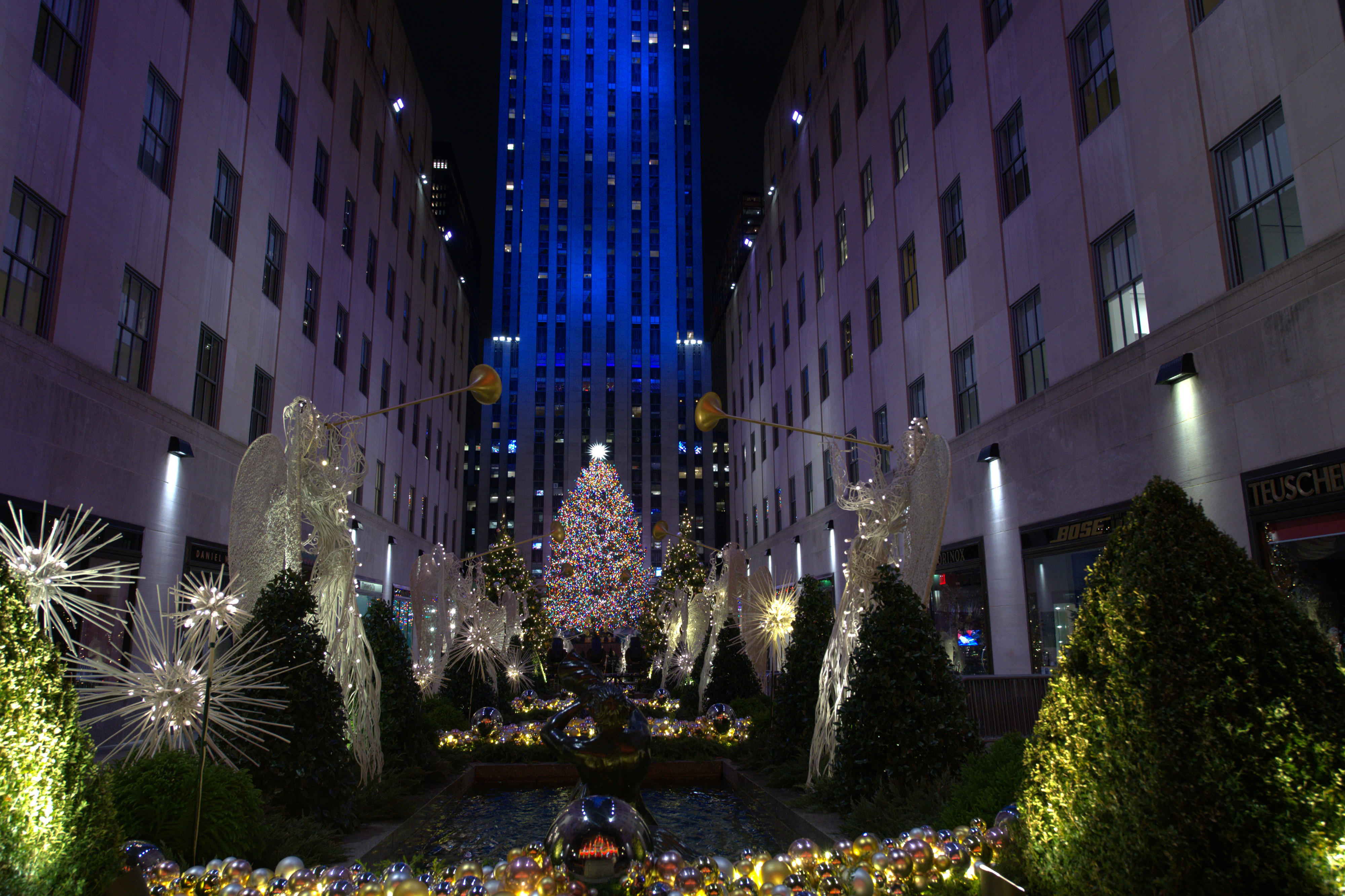 Daniel Libeskind Designs The New Rockefeller Center Christmas Tree