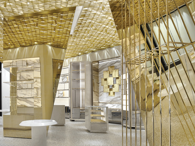 New stores for Adidas and Versace create 'a place of worship, where fans can gather'