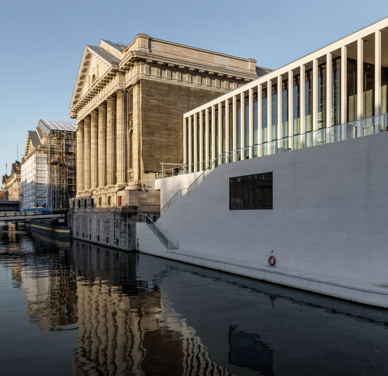 Reporter: James-Simon-Galerie Berlin David Chipperfield Architects