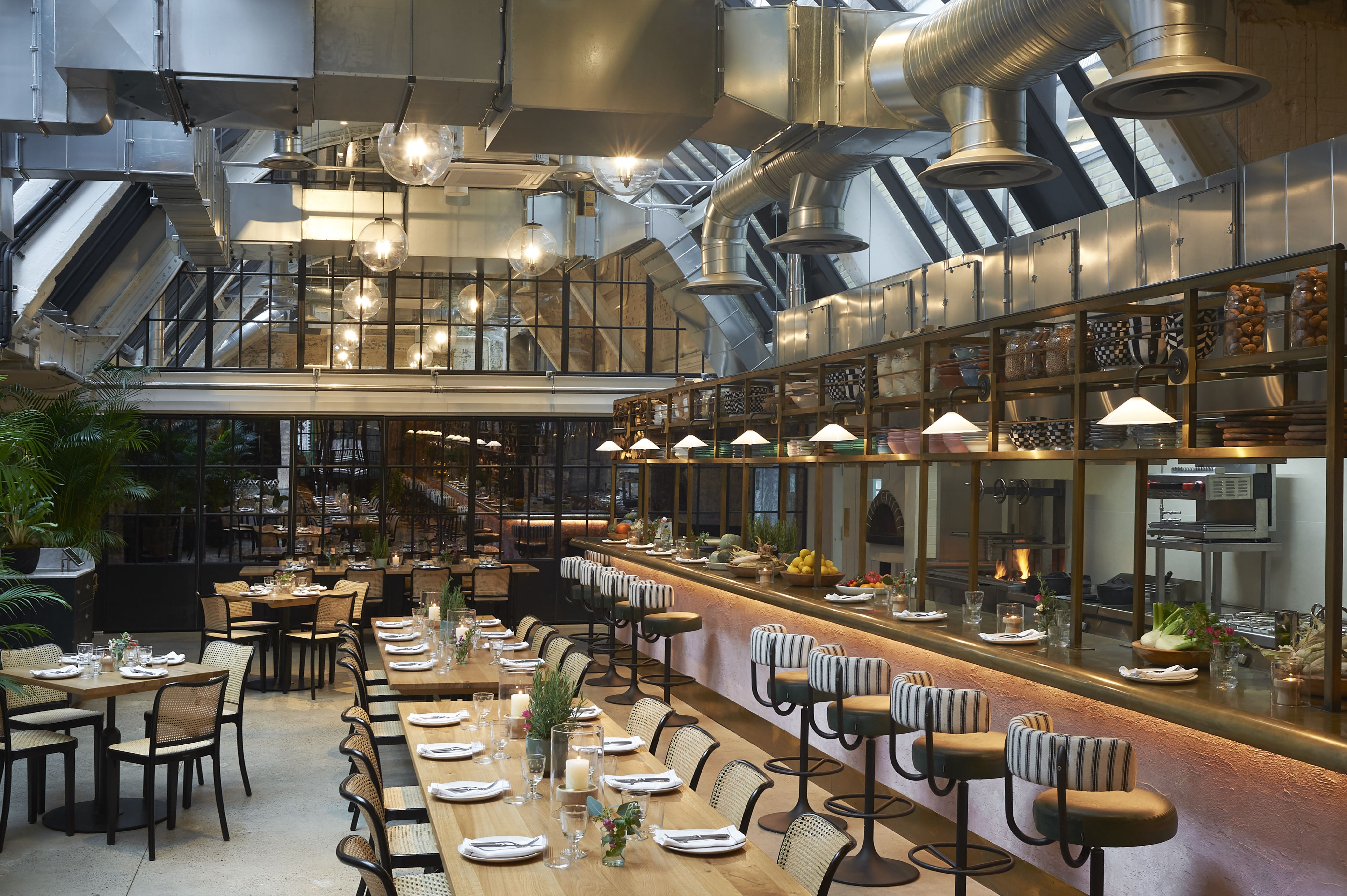 NEW RESTAURANT WILD BY TART OPENS IN FORMER POWER STATION