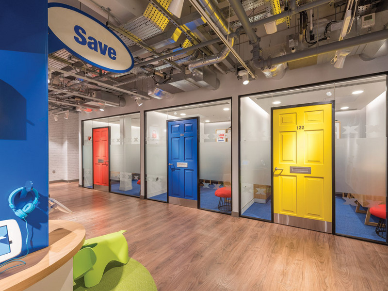 Surfaces Focus: Honest design Halifax's flagship using a range of Forbo flooring