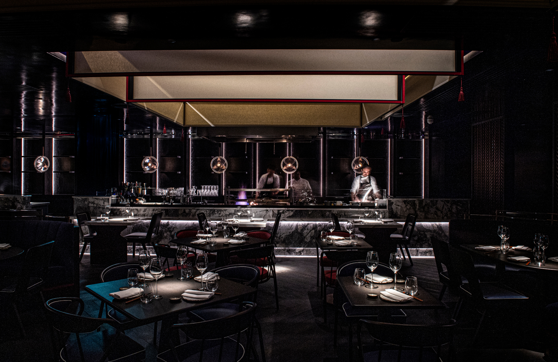Robert Angell creates stunning new interiors for aqua kyoto