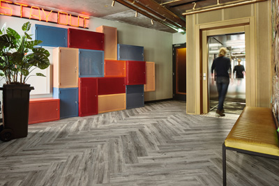 Making Places into Comfortable Spaces, with Forbo's New Acoustic LVT Range