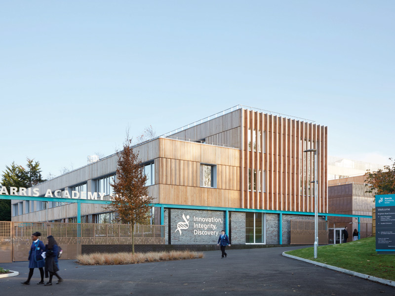 Architype create the UK's first Passivhaus secondary school
