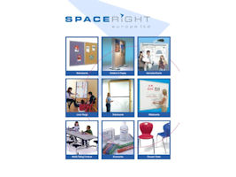 Spaceright Europe - 2012 Catalogue