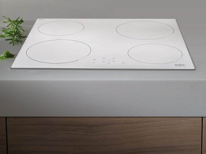 White Open-Zone Induction Hob - DesignCurial