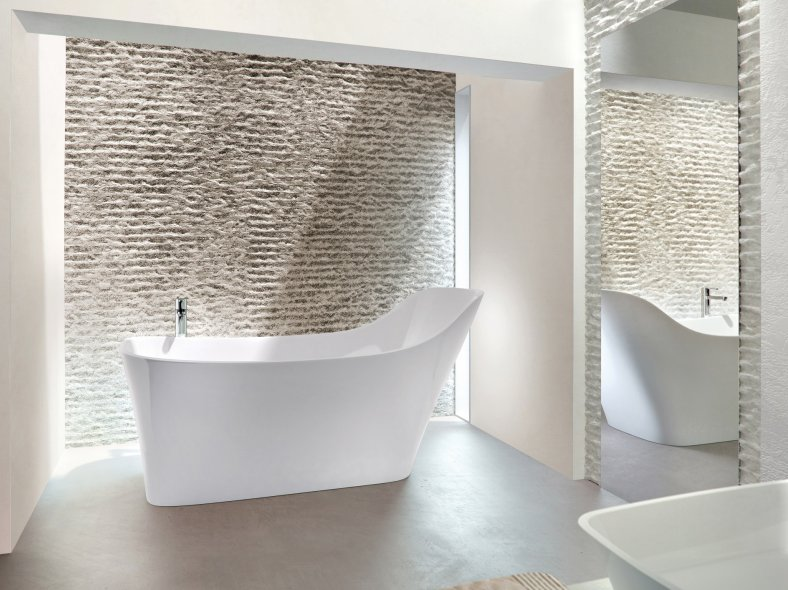Deeper, Ergonomic Natural Stone Baths