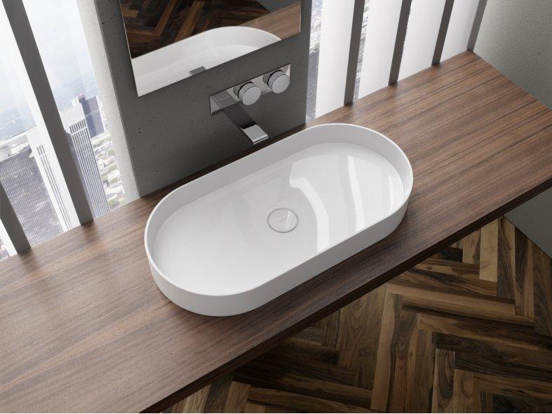 VitrA Memoria basins by Christophe Pillet - DesignCurial