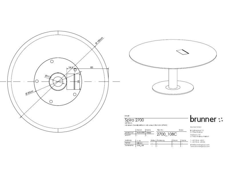 SPIRA table