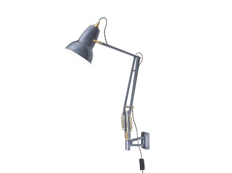 Anglepoise Brass Original 1227 Mounted Wall Lamp