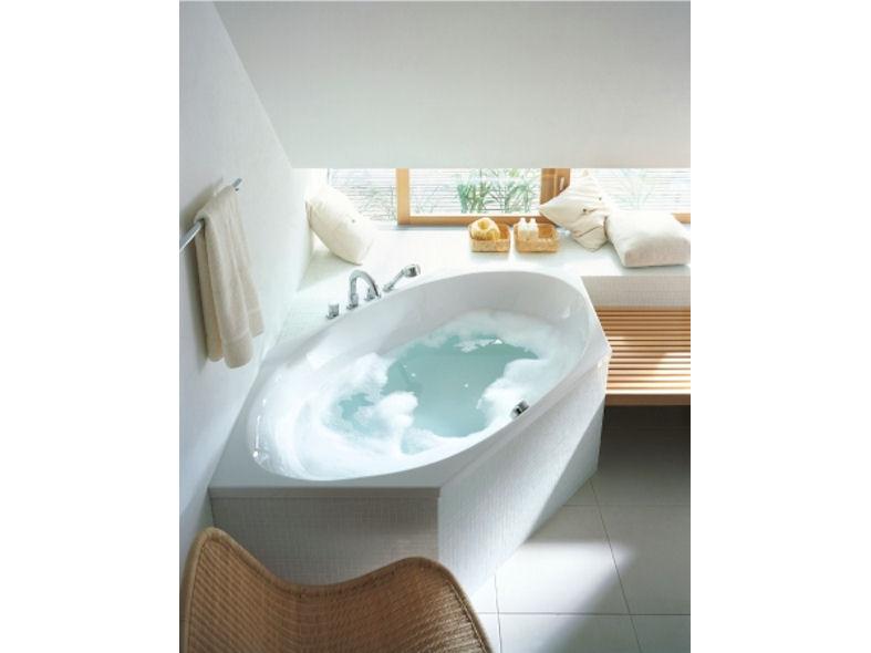 Corner Bath : Duravit 2x3 Oval Corner Bath - DesignCurial