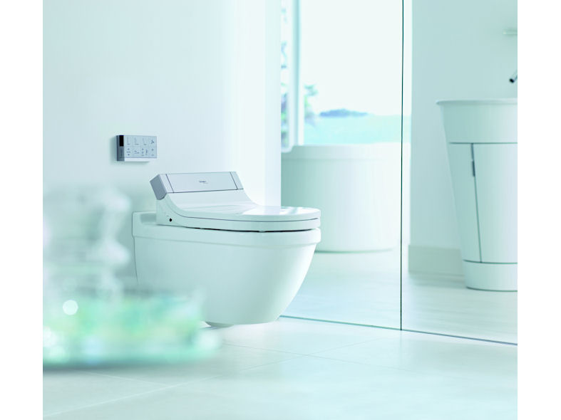 Duravit SensoWash Starck Shower Toilet Seat - DesignCurial