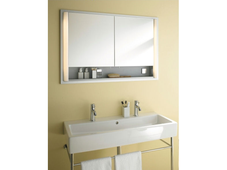 duravit cabinets bathrooms duravit illuminated bathroom mirrors amp cabinets designcurial 15089