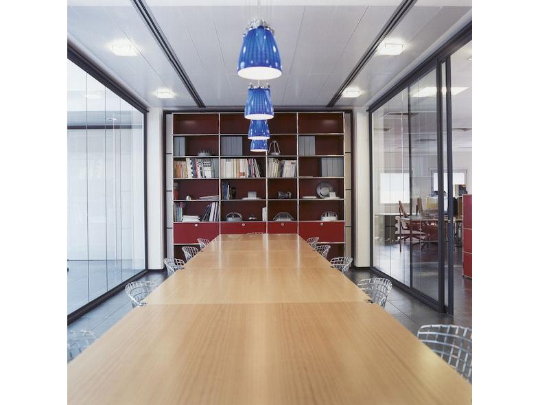 USM Haller Boardroom Table wuth Oiled Oak Veneer