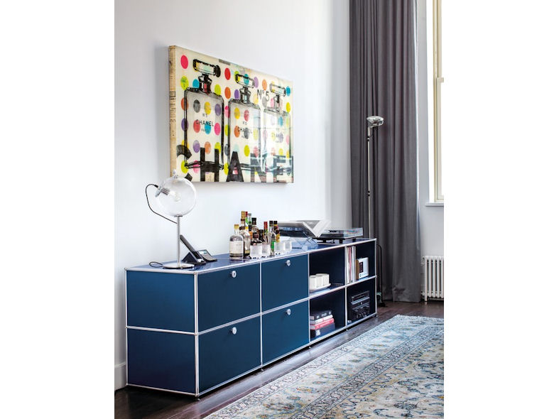 usm haller tables desks designcurial. Black Bedroom Furniture Sets. Home Design Ideas