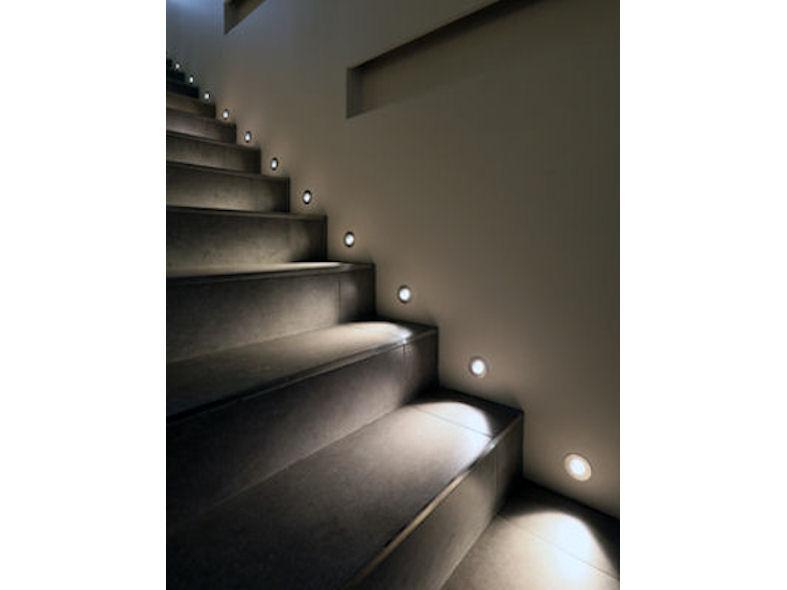 Lighting Basement Washroom Stairs: Riena LED Step Light