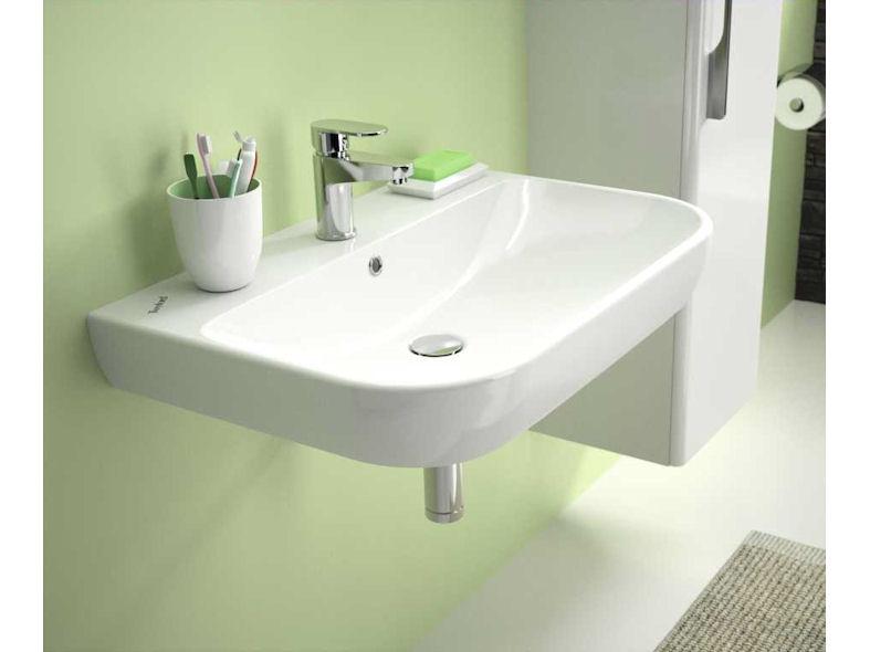 Twyford E500 round slim-rim washbasin