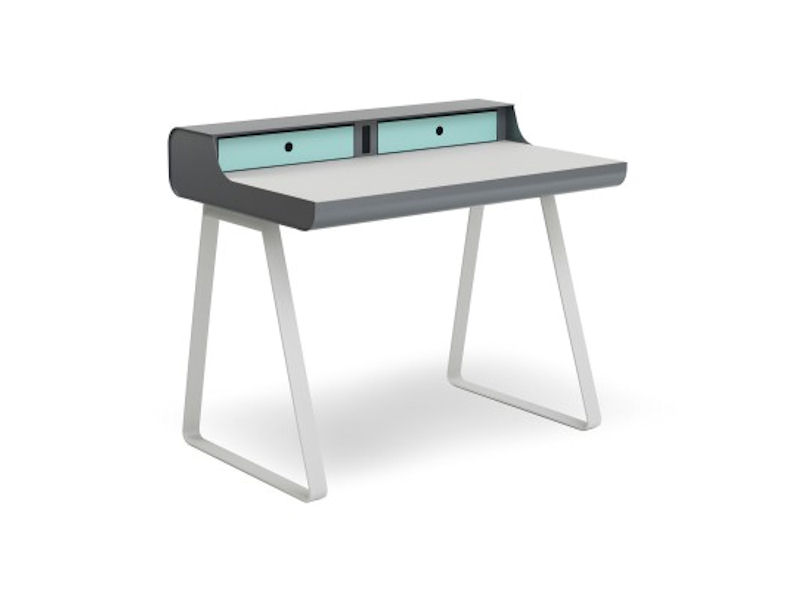 Muller Home Office Desk Secretary Table Without Lid