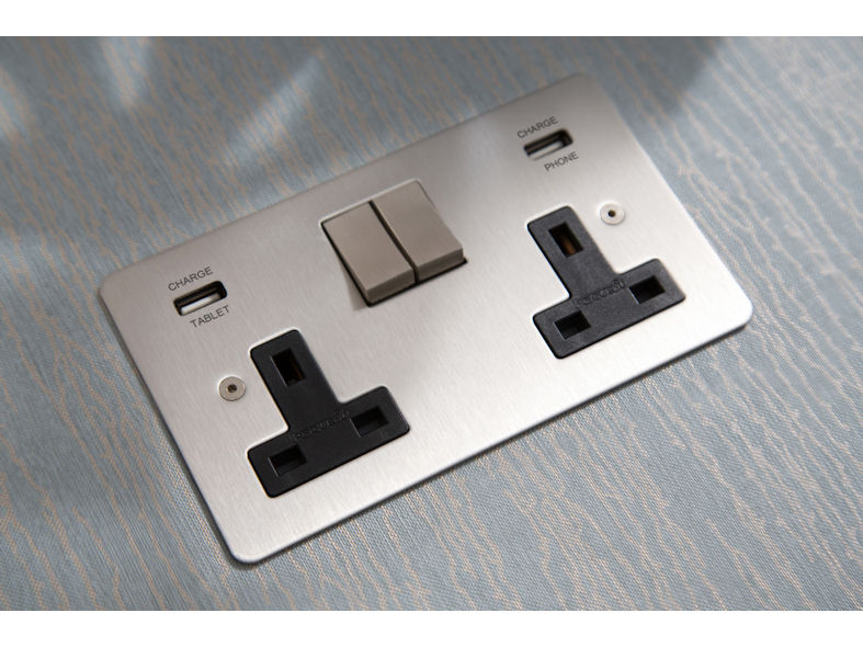 Integrated USB Sockets