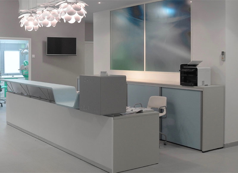 Reception desk system - Can I Help You