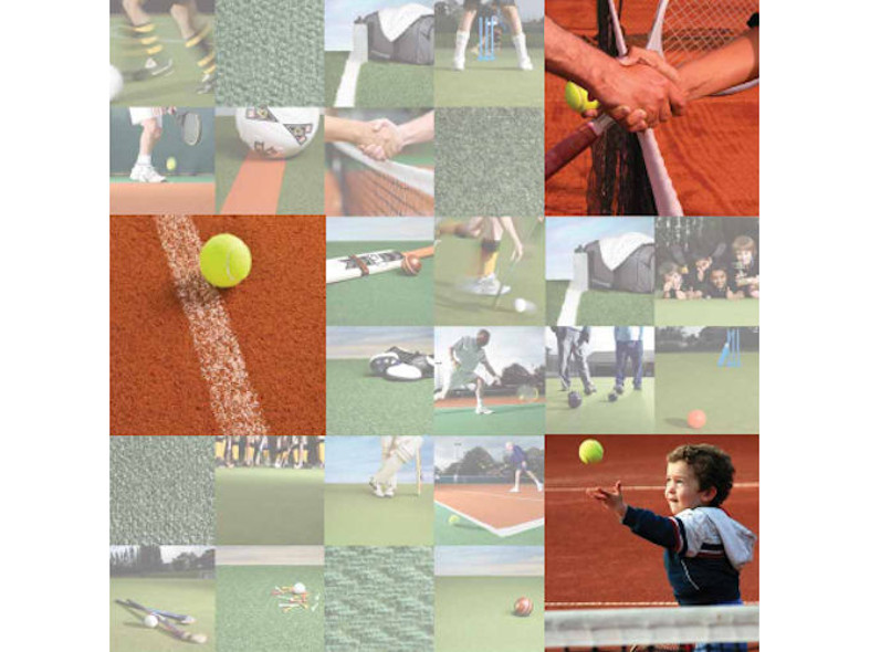 Claytex Synthetic Tennis Surfacing