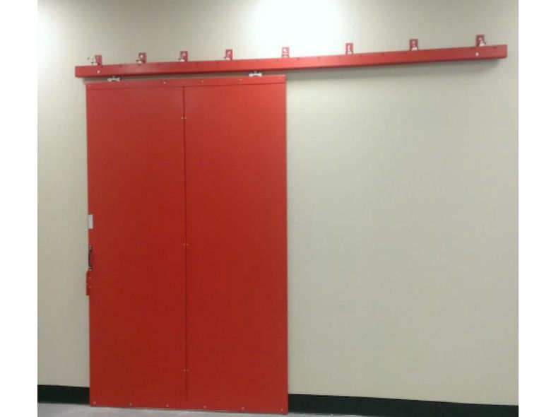 Sliding Fire Doors : Composite sliding fire doors designcurial