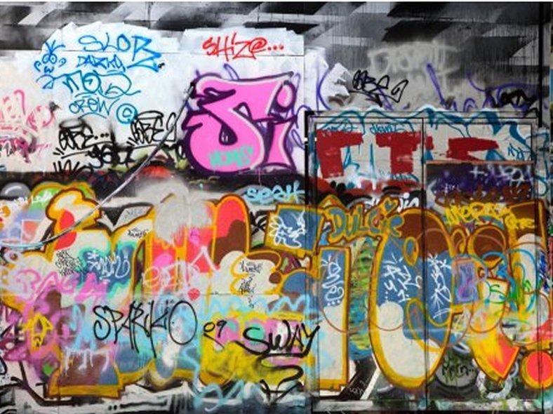 18 wall mural graffiti ideas lentine marine 67898 for Graffiti mural