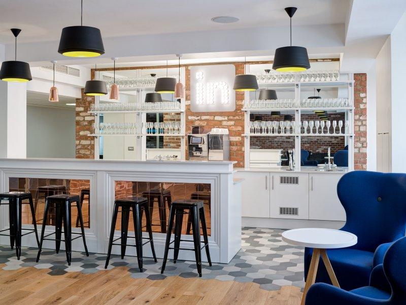 linkedin london office design phase 1 designcurial