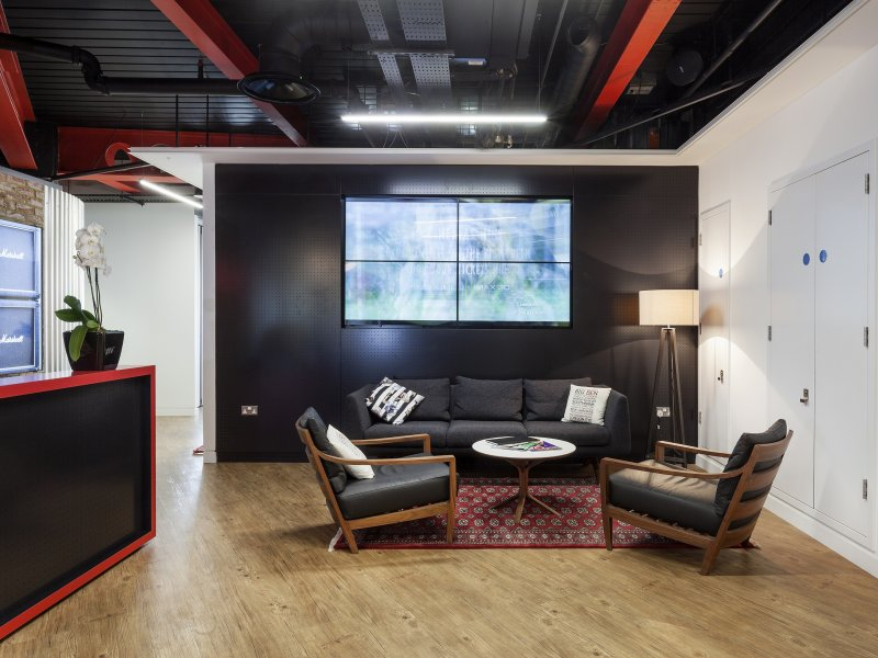 BMG UK HQ refurb