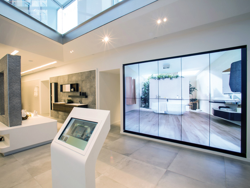 Foster + Partners fashion the Porcelanosa flagship showroom, New