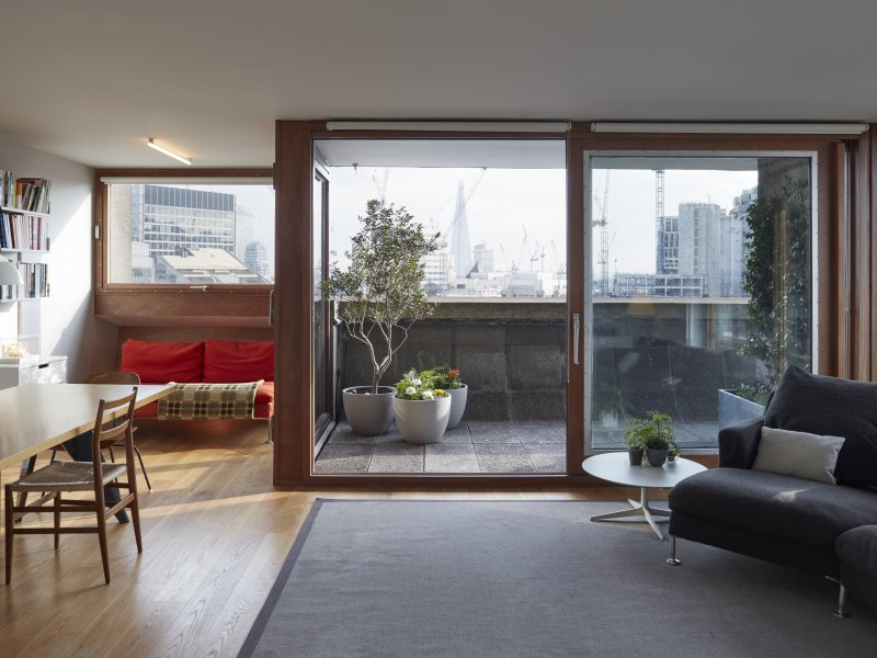 A new language for a Barbican Type 3C tower flat interior ...