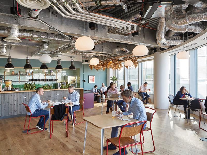 wework spitalfields london by john robertson architects