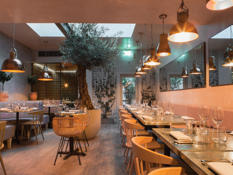 Kinnersley Kent Design Adds Warmth To Bandol Restaurant
