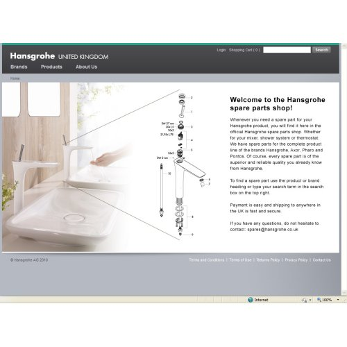 Hansgrohe Spares are now just a few clicks away - DesignCurial